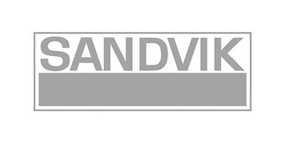 Sandvik Logo Gray